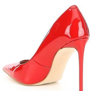 Steve Madden Shoes - Steve Madden Patent Red Stiletto Pumps
